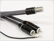 фоно кабель IKEDA, двужильный экранированный с коннекторами Stright